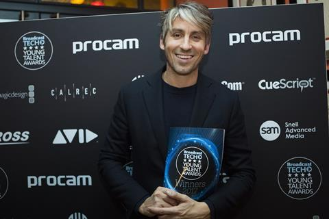 TV and radio presenter George Lamb